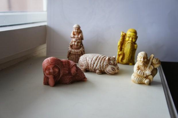 مجسمه سازی با صابون - پیکرتراشی - ساخت مجسمه با صابون