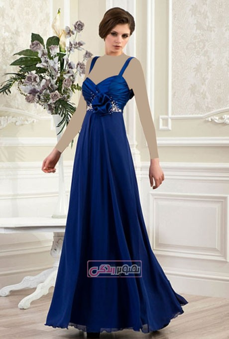 مدل لباس زنانه 2015 - پیراهن مجلسی زنانه