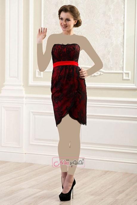 مدل لباس مجلسی زنانه 2015 - پیراهن مجلسی زنانه