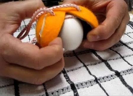 دستور پخت غذا  , طرز تهیه تخم مرغ آب پز مخلوط