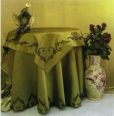 آموزش تزیین رومیزی با هویه کاری