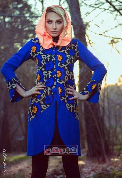 مدل های جدید مانتو بهاری دخترانه - مانتو مرسده