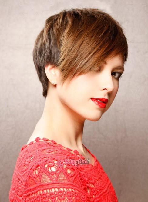 جدیدترین مدل موای زنانه - مدل موی کوتاه - مدل کوتاهی مو