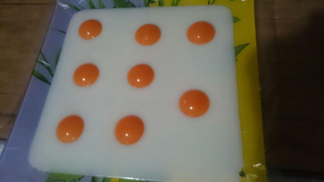 طرز تهیه ژله به شکل نیمرو - ژله نیمرو