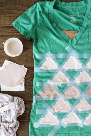 نقاشی روی لباس ها - نقاشی روی پارچه - طرح برای نقاشی روی پارچه و لباس