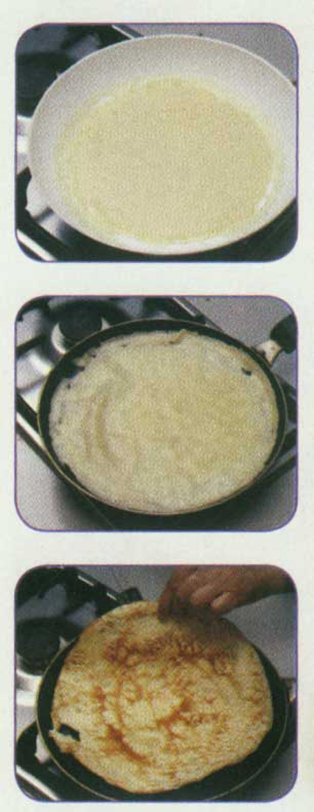 طرز تهیه پنکیک با سالاد مرغ