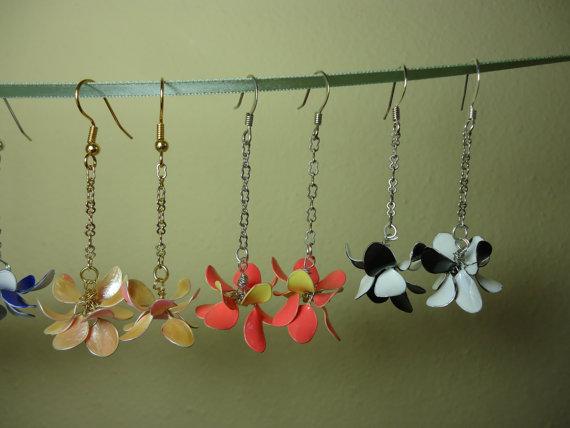 آموزش گل سازی  , آموزش ساخت گل با سیم و لاک + فیلم