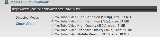 دانلود از یوتیوب بدون نرمافزار از سایت ClipConverter