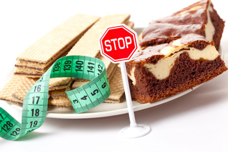 پرهیز از خوردن شیرینی - مقاومت در برابر خوردن شکر و شیرینی