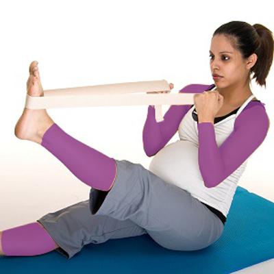 حرکات کششی بارداری , ورزش دوران بارداری + عکس