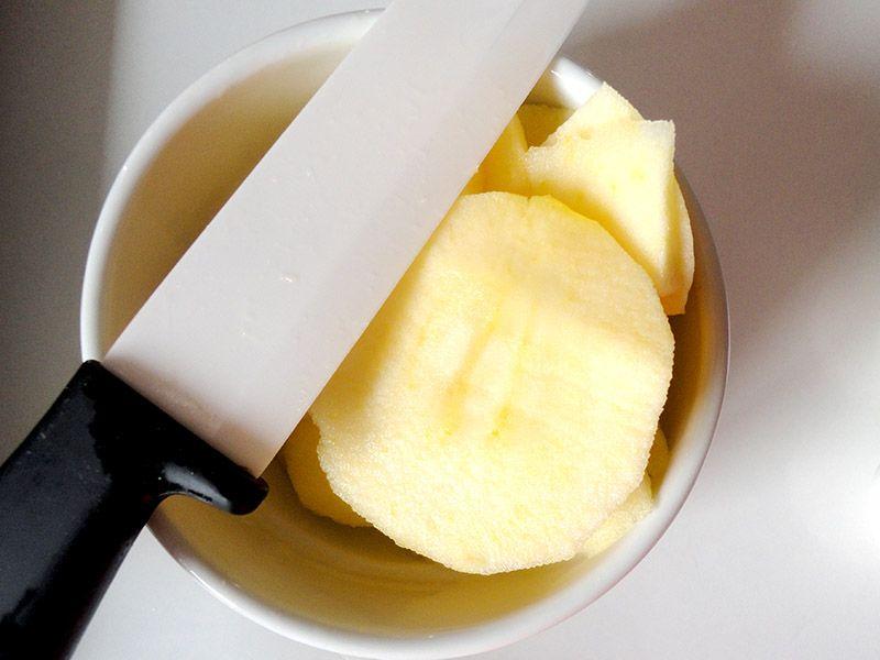 پای سیب کیکی (مدل قنادی)