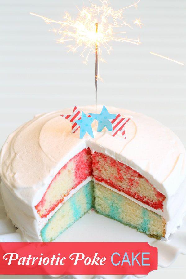طرز تهیه کیک ژله ای  - ژله کیک -POK CAKE