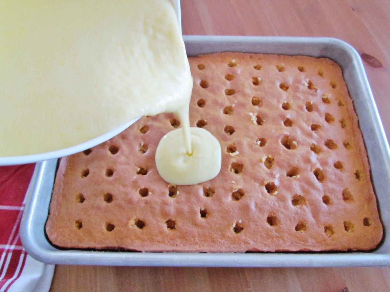 ژله کیک(POK CAKE)