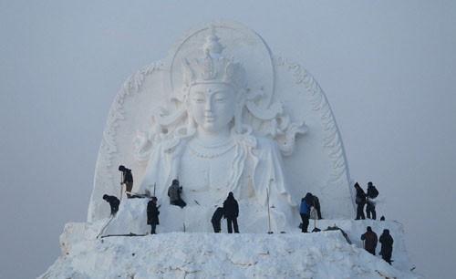 جشنواره دنیای برف و یخ در چین