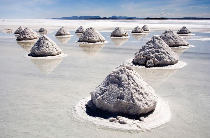 روش های استخراج و تولید نمک