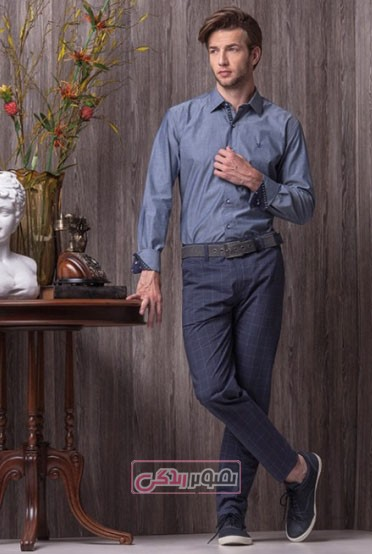 مدل پیراهن شلوار مردانه 2015 - لباس اسپرت پسرانه