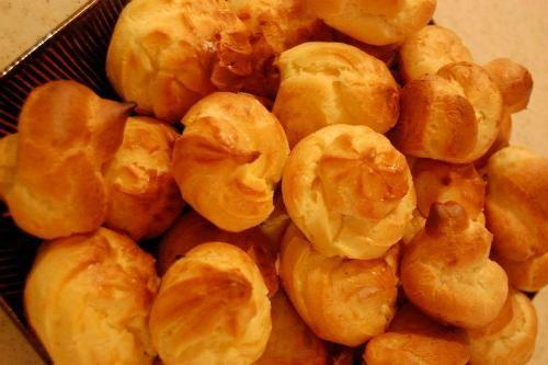 آشپزی آسان نان، شیرینی، دسر  , طرز تهیه شیرینی نارنجکی (نان خامه ای)
