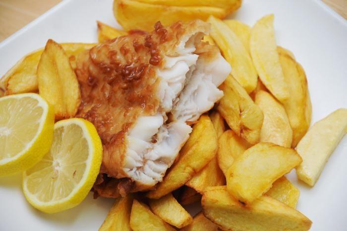طرز تهیه فیش اند چیپس - fish and chips