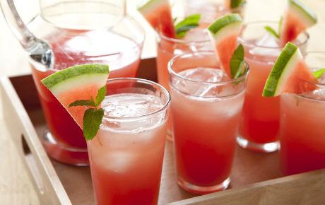 نوشیدنی ها  , روش های تهیه آب هندوانه