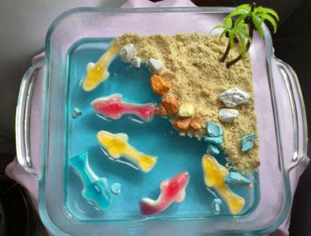 انواع ژله آکواریوم  - عکس ژله دریایی