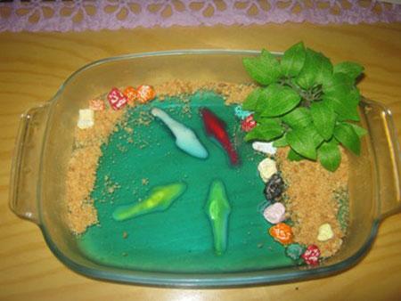 طرز تهیه ژله آکواریومی - ژله دریایی