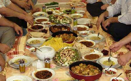 تغذیه  , حفظ سلامتی در ماه رمضان