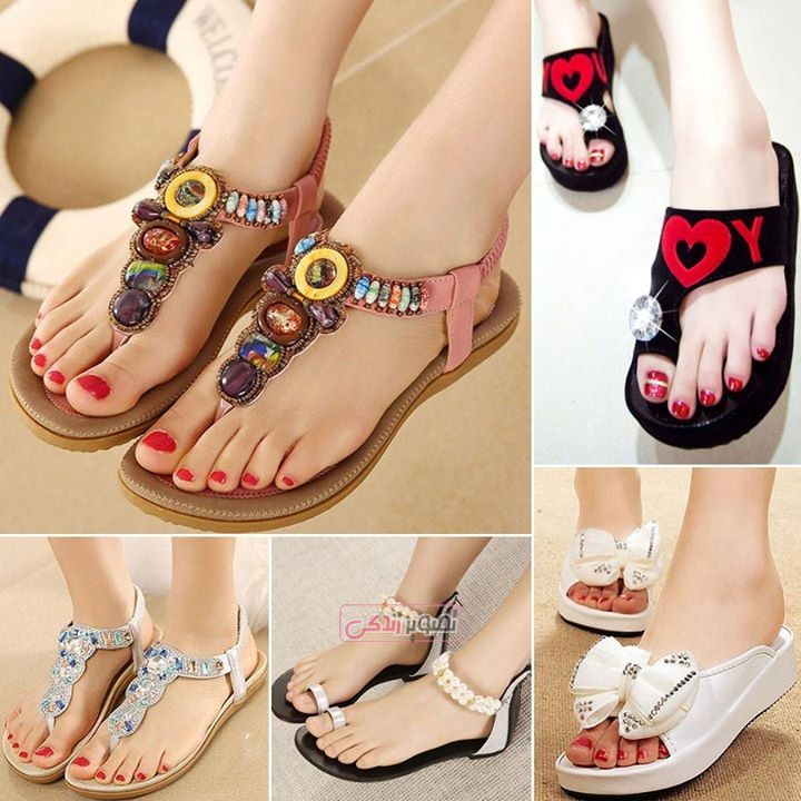 مدل صندل و کفش تابستانی (3) - مجله تصویر زندگیجدیدترین مدل صندل دخترانه - صندل مجلسی - مدل کفش تابستانی