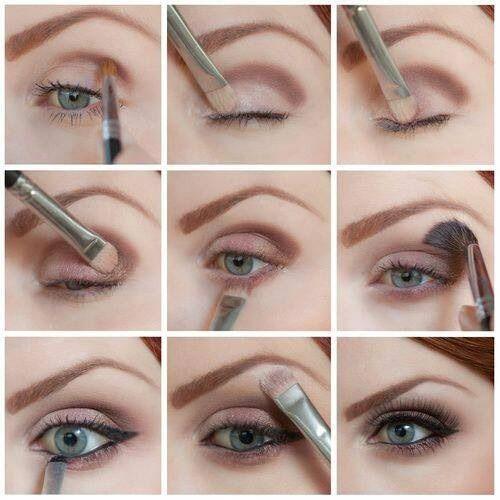 آرایش صورت آرایش و زیبایی  , آموزش تصویری میکاپ چشم