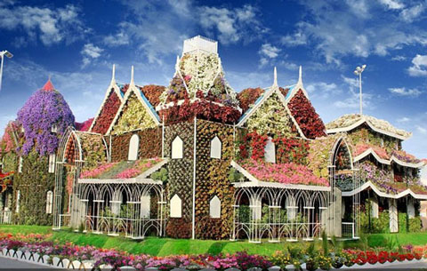 باغ معجزه دبی - بزرگترین باغ گل جهان