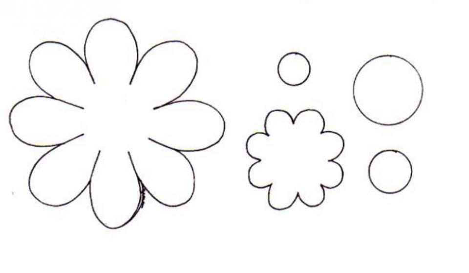 الگو دندون آموزش ساخت رومیزی نمدی به شکل گل - مجله تصویر زندگی