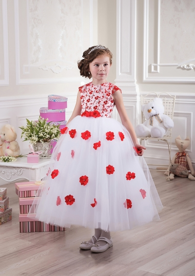 مدل لباس دخترانه مجلسی - پیراهن مجلسی بچگانه 2015