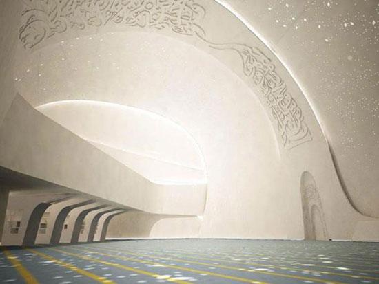 مسجد دانشگاه مطالعات اسلامی قطر ,دیدنی های قطر