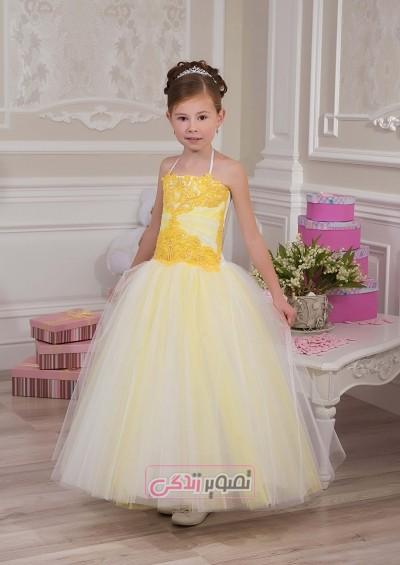 دوخت لباس حریر بچگانه مدل لباس مجلسی دخترانه jeorjett - مجله تصویر زندگی