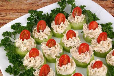 تزیین خیار و پنیر و گوجه ویژه افطار - تزیین پنیر - تزیین سفره افطار