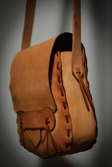 آموزش خیاطی  , آموزش دوخت کیف چرمی با دست