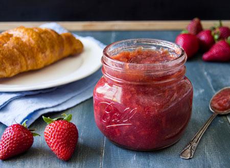 طرز تهیه مربای توت فرنگی - مربای خوش طعم برای ماه رمضان
