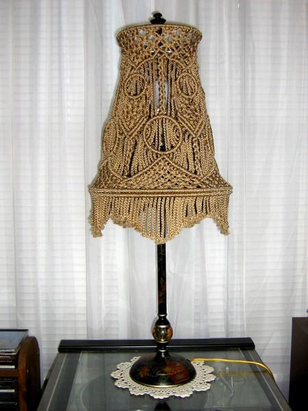 نمونه کارهای هنر مکرومه (طناب بافی)