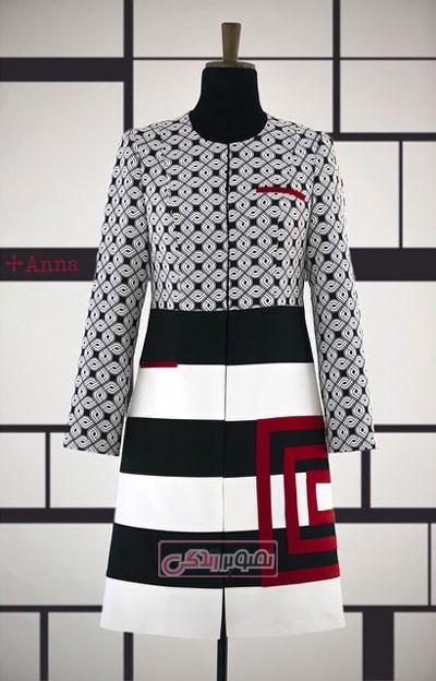 سایر مدل های مانتو  , مدل های جدید مانتو برند آنا ثانی (2)