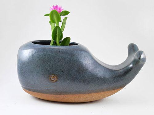 تصاویر دیدنی عکس و کلیپ  , گلدان های لعابی زیبا اثر پریسیلا راموس