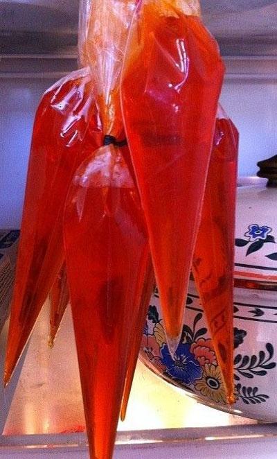 ژله به شکل هویج