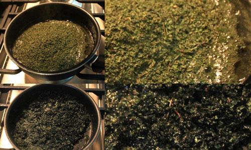 آموزش تصویری طرز تهیه کشک بادمجان