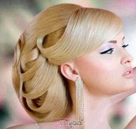 مدل مو - آرایش مو - شینیون مو