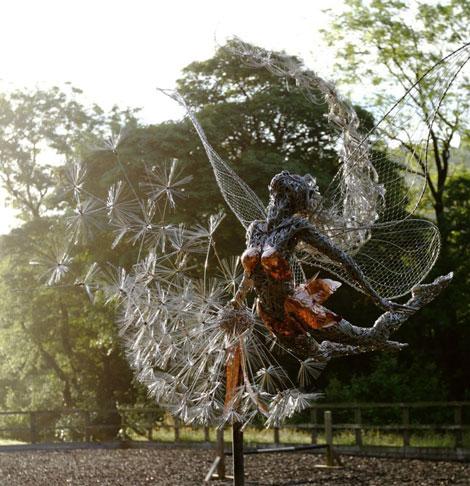 مجسمه های سیمی زیبا و فانتزی - Robin Wight