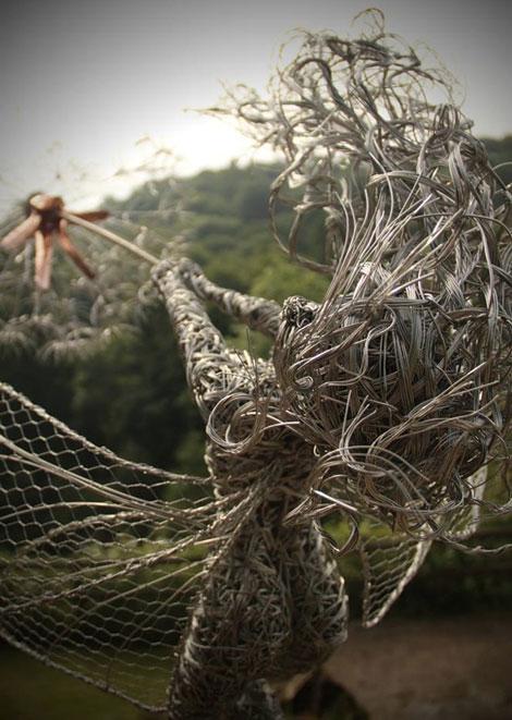 مجسمه های سیمی گالوانیزه - Robin Wight