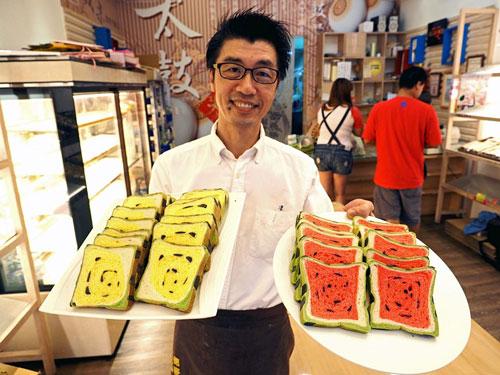 اختراع نان هندوانه ای - هندوانه مریعی
