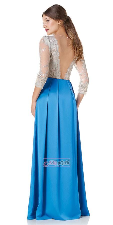مدل لباس مجلسی 2015 - پیراهن بلند مجلسی زنانه