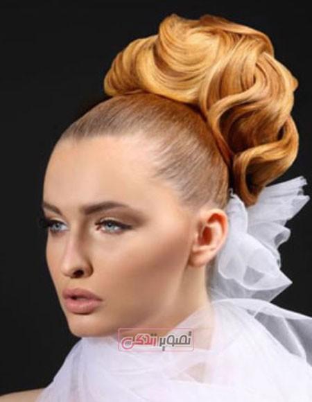 مدل های جدید شینیون مو - مدل آرایش مو