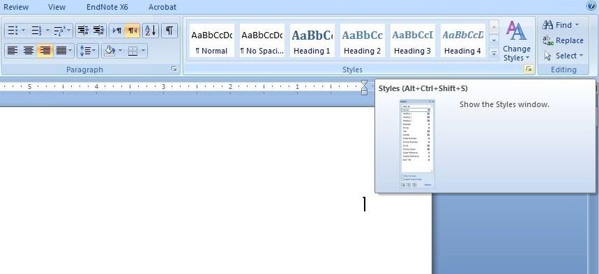 آموزش word - ایجاد فهرست اشکال - درج فهرست جداول