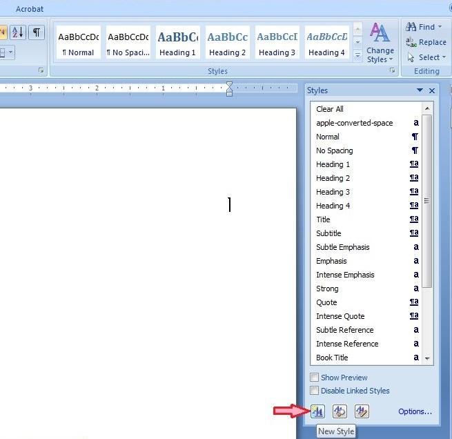 آموزش word - ساخت فهرست اشکال - ایجاد فهرست جداول