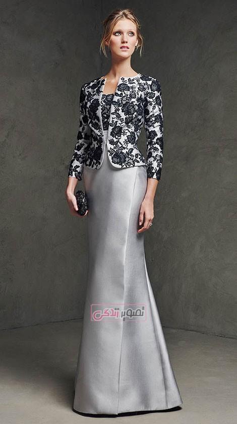 کت و دامن مجلسی - لباس مجلسی زنانه